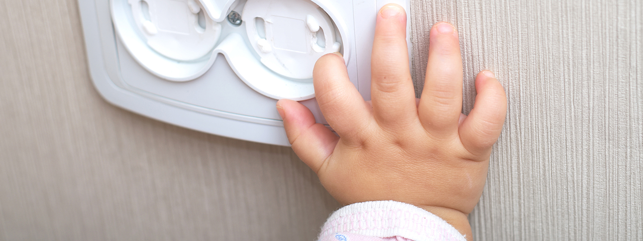 Kindersicherung Steckdose
